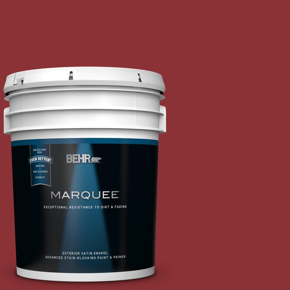 5 gal. #PPU2-03 Allure Satin Enamel Exterior Paint and Primer in One
