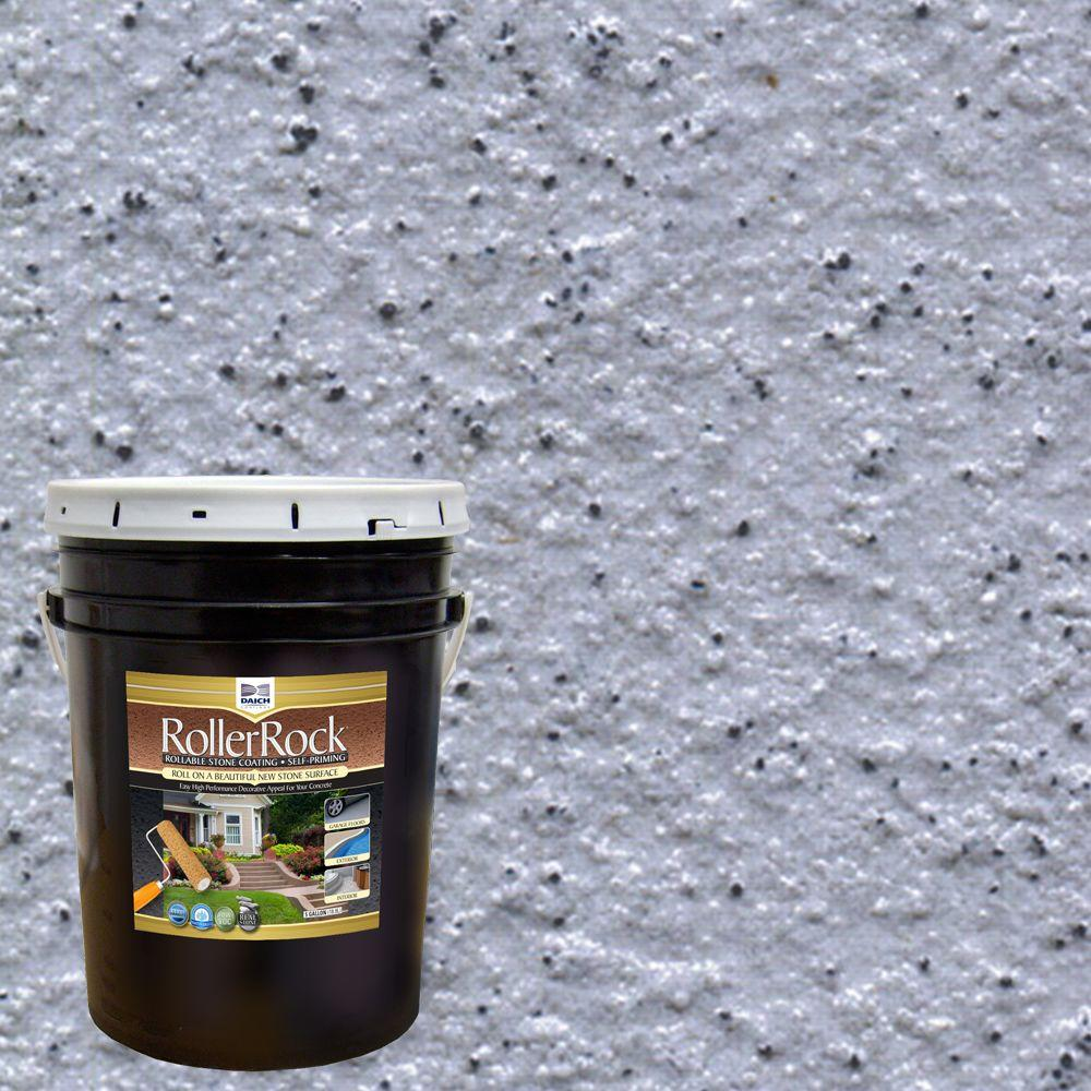 5 gal. Self-Priming Deep Slate Exterior Concrete Coating