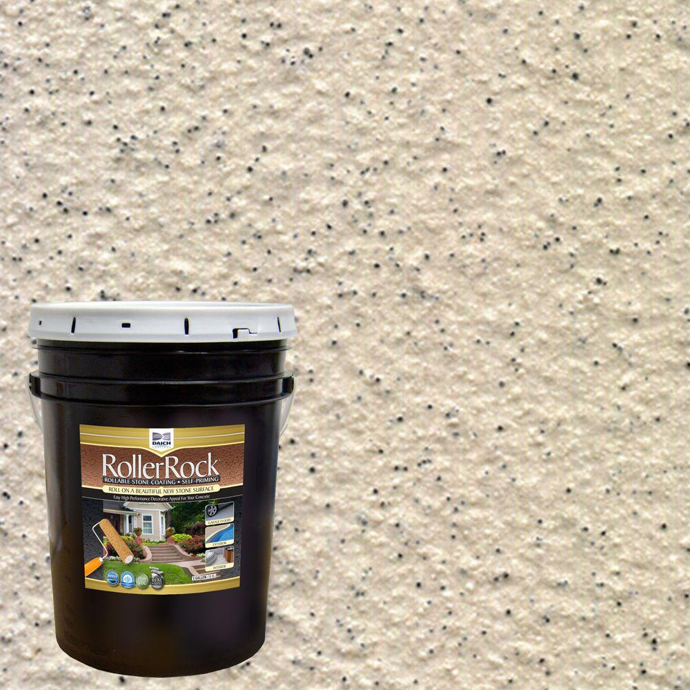 5 gal. Self-Priming Ivory Exterior Concrete Coating