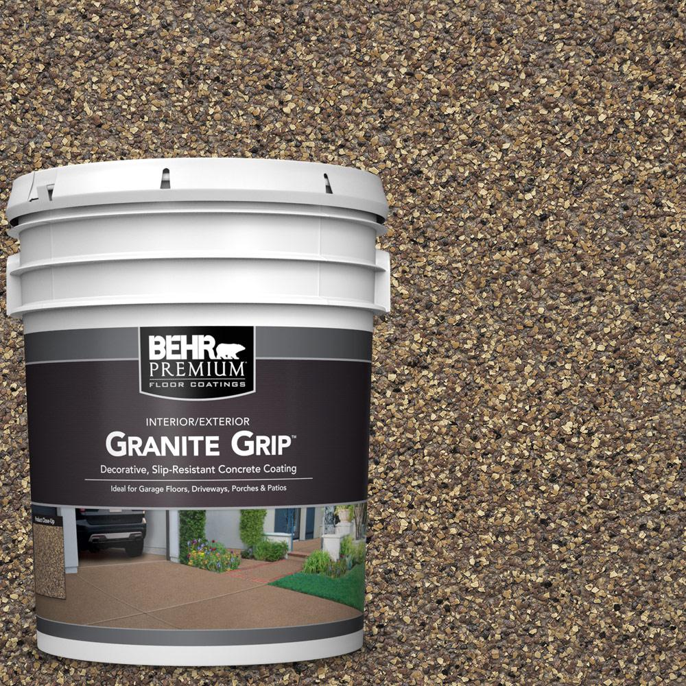 5 gal. #GG-14 Autumn Mountain Decorative Flat Interior/Exterior Concrete Floor Coating