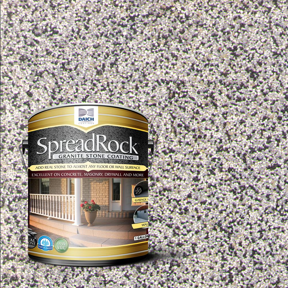 Granite Stone Coating 1 gal. Flint Gray Satin Interior/Exterior Concrete Resurfacer and Sealer